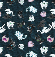 Limited Edition Minky Blanket - Dragons