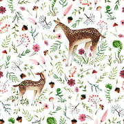 Sleep Nest - Floral Deers