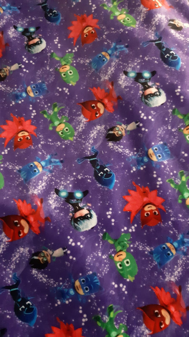 QUICK SHIP - Limited Edition Squish Minky Blanket -  PJ Masks Baby&Child Size
