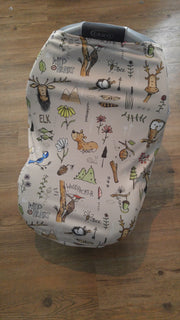 Stretchy Car Seat Cover Designer - Wild at Heart