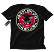 Metal Mulisha Armed Society T-Shirt Mens Back Black
