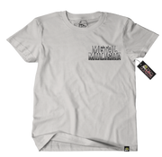 Metal Mulisha Border T-Shirt Mens Front Slilver