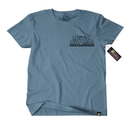 Metal Mulisha Border T-Shirt Mens Front Slate