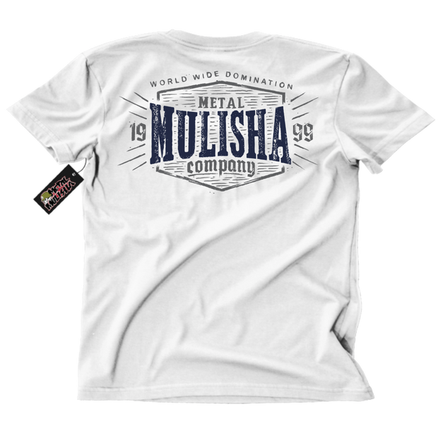 Metal Mulisha Crave T-Shirt Mens Back White