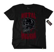 Metal Mulisha Louder T-Shirt Front Black Red