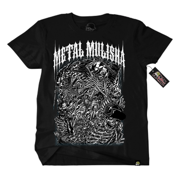 metal mulisha mayhem t-shirt black front