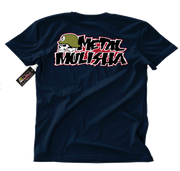Metal Mulisha OG Block T-Shirt Mens Back Navy