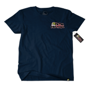 Metal Mulisha OG Block T-Shirt Mens Front Navy