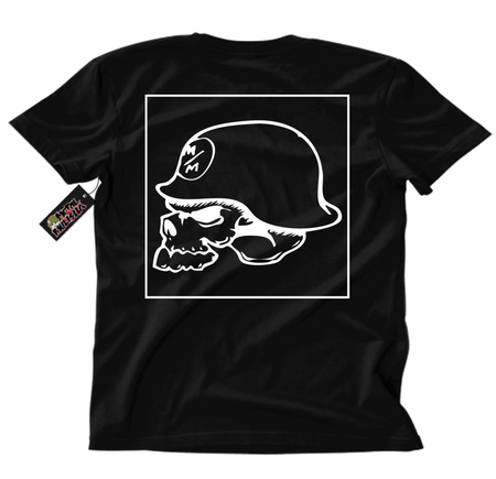 Metal Mulisha OG Square T-Shirt Mens Back Black