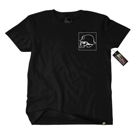 Metal Mulisha OG Square T-Shirt Mens Front Black