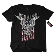 Metal Mulisha Patriot Flag T-Shirt Mens Front