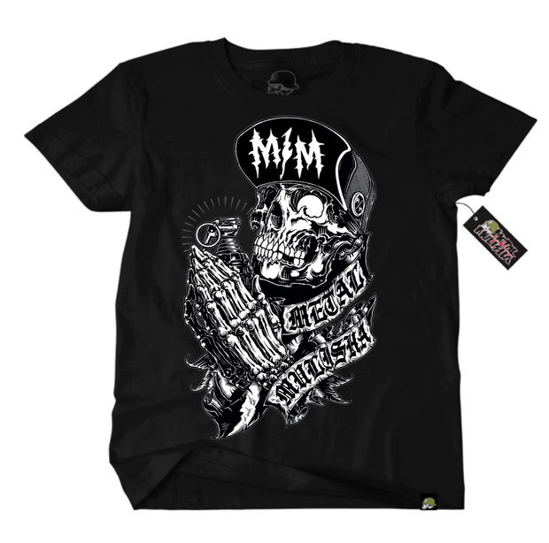 Metal Mulisha Pray T-Shirt Front Black