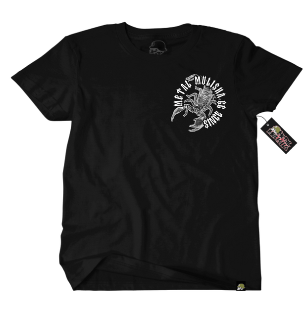 Metal Mulisha Risk T-Shirt Mens Black Front