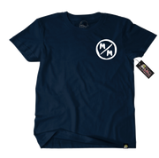 Metal Mulisha Surplus T-Shirt Mens Front Navy
