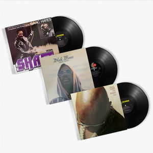 Isaac Hayes - Holy Trinity of Soul Vinyl Bundle (Black Moses / Shaft / Hot Buttered Soul)