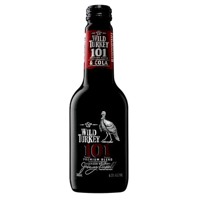 Wild Turkey 101 Bourbon & Cola Stubbies 340ml x 24