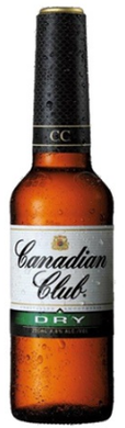 Canadian Club Whisky & Dry 330mL Case