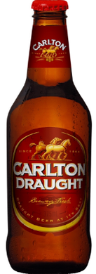 Carlton Draught Bottles 375mL Case