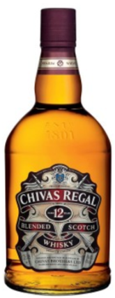 Chivas Regal 12 Year Old Scotch Whisky 750mL