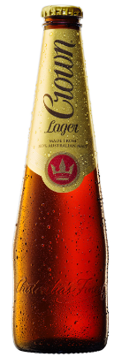 Crown Lager Bottles 375mL Case