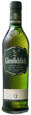 Glenfiddich 12 Year Old Scotch Whisky 700mL