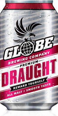 Globe Draught Cans 330ml Case