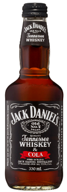 Jack Daniels & Cola Bottle 330mL Case
