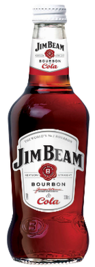 Jim Beam White & Cola Bottle 330mL Case