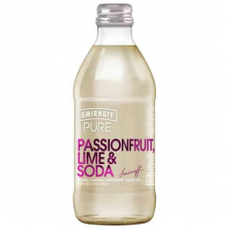 Smirnoff Pure Passionfruit Lime & Soda  300ml x 24