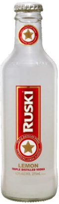 Ruski Lemon Bottles 275mL Case