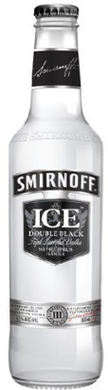 Smirnoff Ice Double Black Bottles 300mL Case