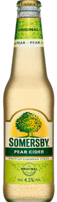 Somersby Pear Cider Bottles 330mL Case