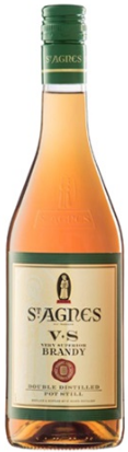 St Agnes VS Brandy 700mL