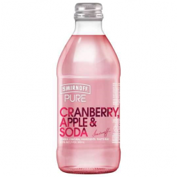 Smirnoff Pure Cranberry Apple Lime & Soda  300ml x 24