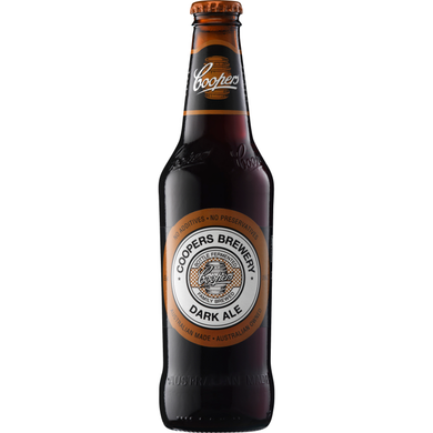 Coopers Dark Ale Stubbies 375ml x 24