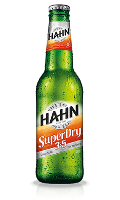 Hahn Superdry 3.5 Mid Strength Stubbies 330mL x 24