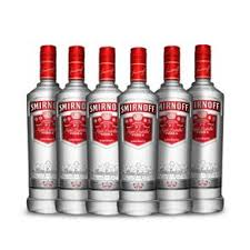 Smirnoff Red Vodka 700mL x 6 **MULTIBUY OFFER $33.33 per unit**