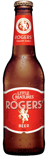 Little Creatures Rogers Amber Ale Stubbies 330ml x 24