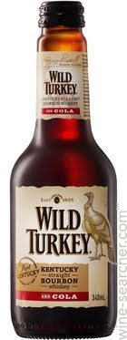 Wild Turkey & Cola Stubbies 340ml x 24