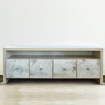 LEATHER CREDENZA
