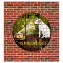 HMV Stained Glass Style Window Curtain (Victorville® Collection)