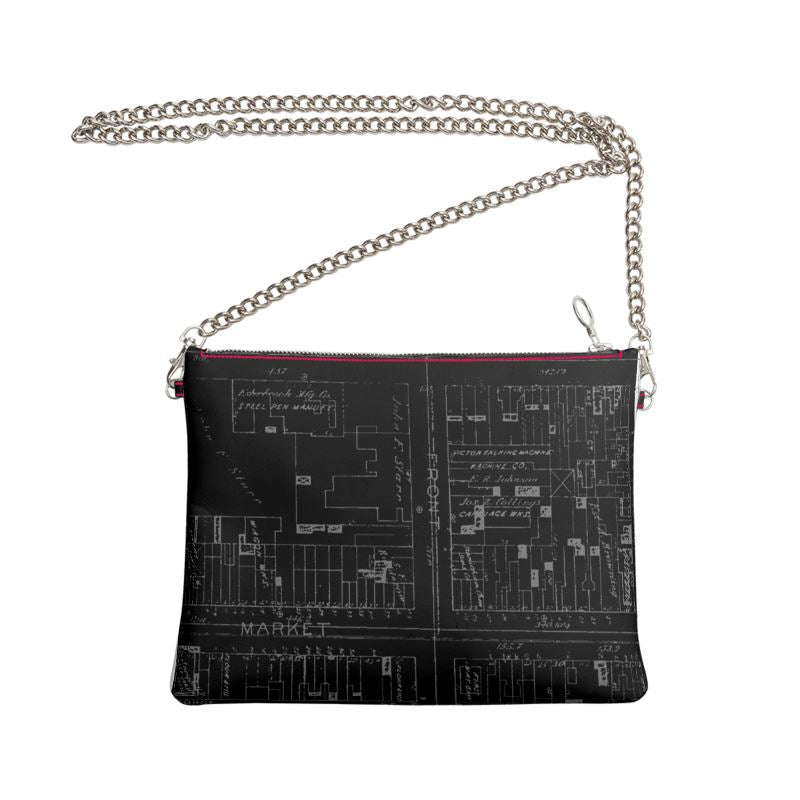 Victor Talking Machine Co.® '1901' Leather Cross Bag (John Wanamaker® Collection)
