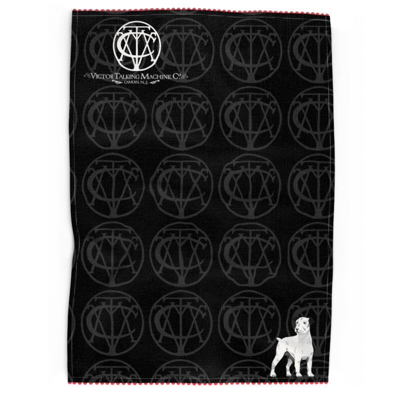 Victor Talking Machine Co. '1901' Handcrafted Tea Towels (Victorville® Collection)