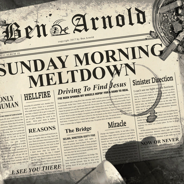 "Sunday Morning Meltdown by Ben Arnold (Vinyl 12"" Record)"