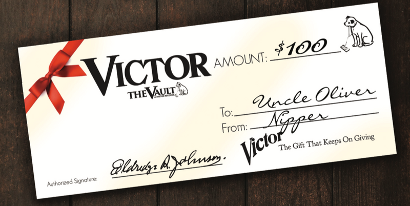 Victor Gift Card