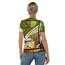 HMV® (Little Nipper Stained Glass) Women's T-shirt (Victorville® Collection)