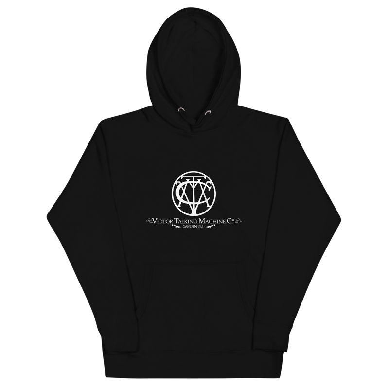 Classic Logo 'Victor Talking Machine Co'® Unisex Hoodie (Victorville Collection®)