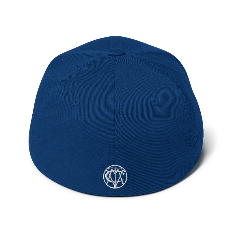 'Presswell Records' Logo Structured Twill Cap (Victorville® Collection)