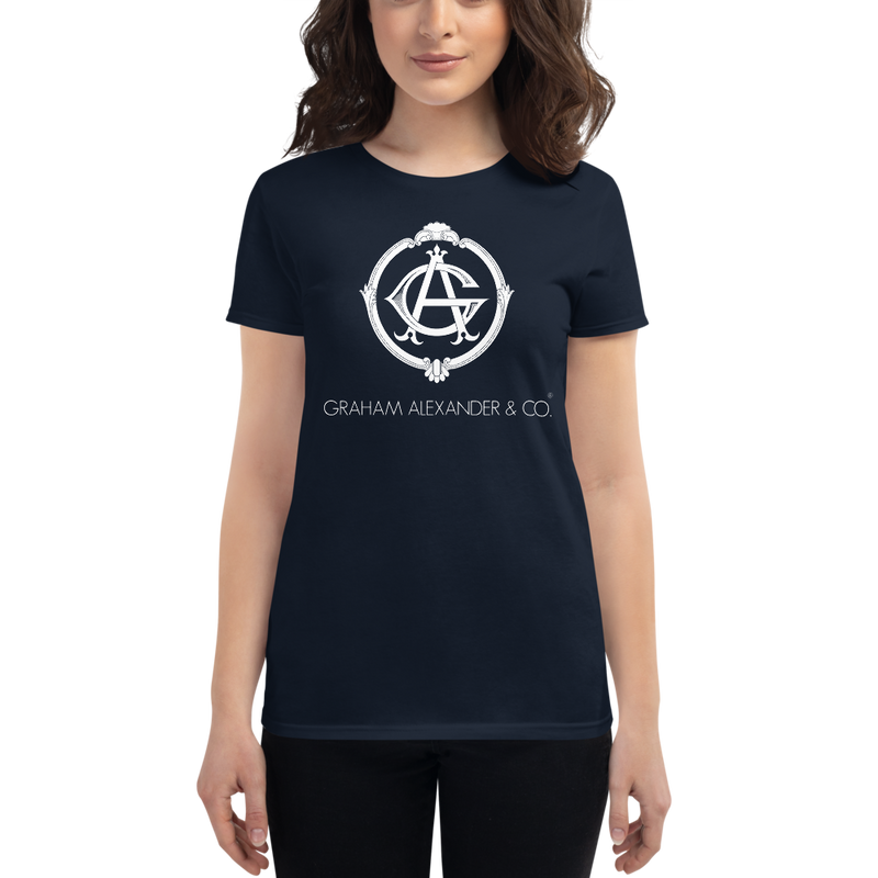 'Graham Alexander & Co.' Women's short sleeve t-shirt (Artists Of Victorville® Collection)