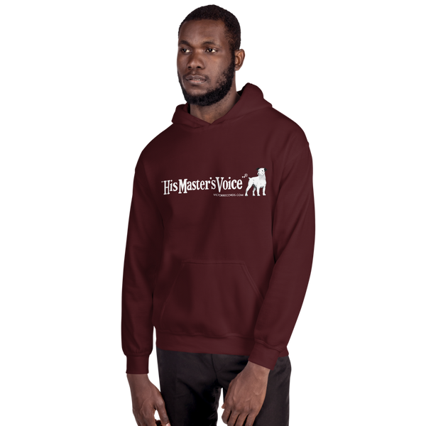 Victor 'His Master's Voice®' Record Label Logo Hoodie (Victorville® Collection)